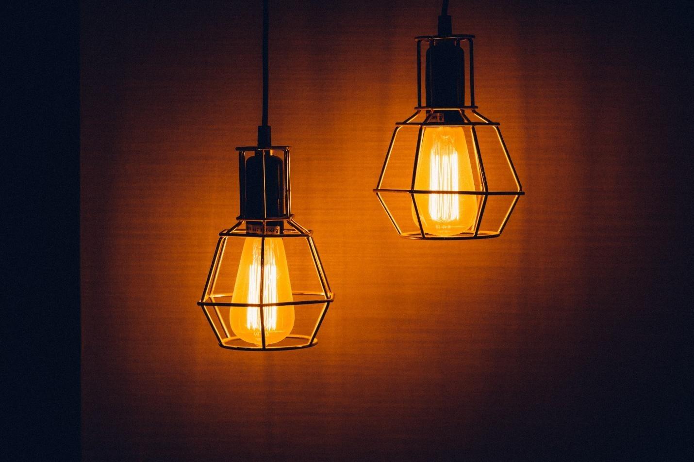 Warm Edison Style Bulbs